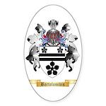 Bartolomivis Sticker (Oval 50 pk)
