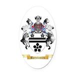 Bartolomieu Oval Car Magnet