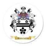 Bartolomieu Round Car Magnet