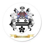 Bartolomeotti Round Car Magnet