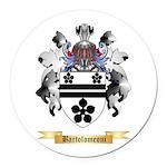 Bartolomeoni Round Car Magnet