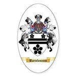 Bartolomeoni Sticker (Oval 50 pk)