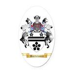 Bartolomeo Oval Car Magnet