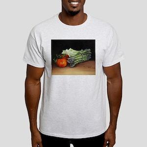 Still Life Tomato Cabbage Asparagus T-Shirt