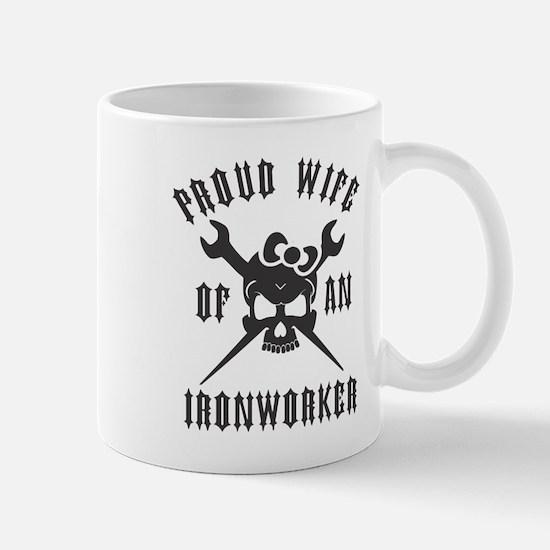 IRONWORKER WIFE LOGO BLACK Mug