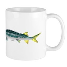 White Sturgeon fish Mug