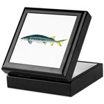 White Sturgeon fish Keepsake Box