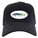 White Sturgeon fish Baseball Hat