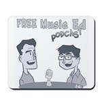 Free Music Ed Cartoon Mousepad