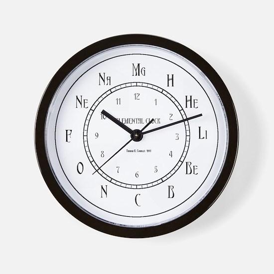 Elemental Wall Clock Wall Clock