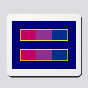 Equality Bisexual Mousepad