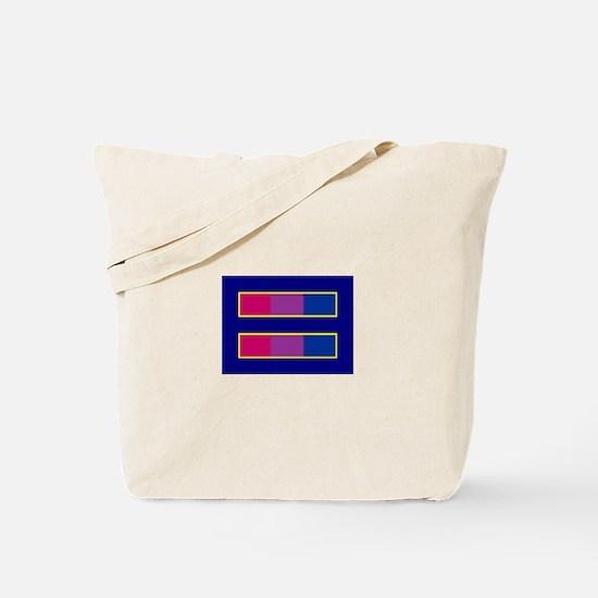 Equality Bisexual Tote Bag