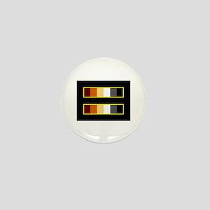 Equality Bear Black Mini Button