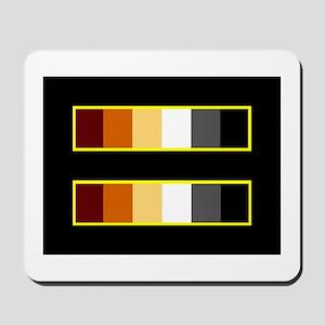 Equality Bear Black Mousepad