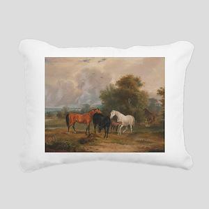 Field Day Rectangular Canvas Pillow