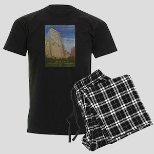 Zion Park Men's Dark Pajamas