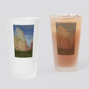 Zion Park Drinking Glass