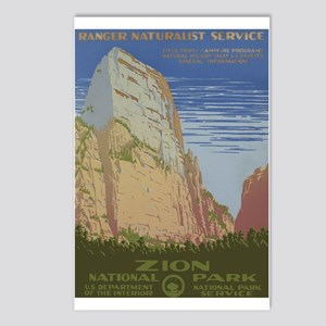 Zion Park Postcards (Package of 8)