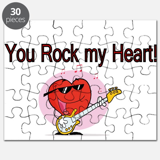 You Rock My Heart Puzzle