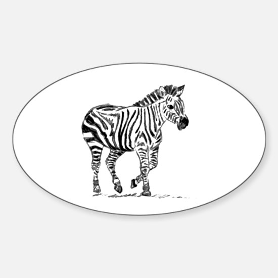 Zebra Decal