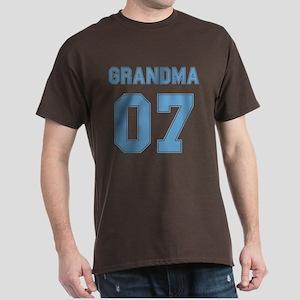 Blue Grandma 07 Dark T-Shirt