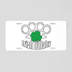 Shamrock Irish Lullaby. Aluminum License Plate