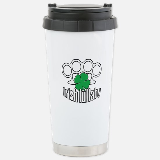 Shamrock Irish Lullaby. Stainless Steel Travel Mug