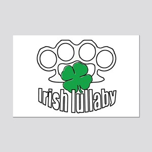 Shamrock Irish Lullaby. Mini Poster Print