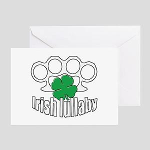 Shamrock Irish Lullaby. Greeting Card