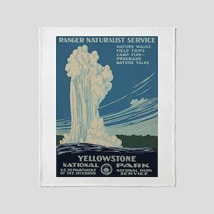 Yellowstone Throw Blanket
