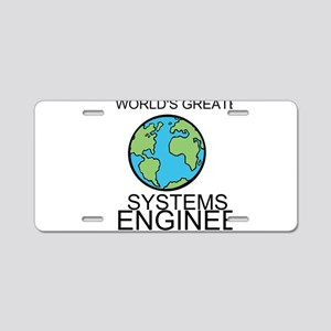 Worlds Greatest Systems Engineer Aluminum License
