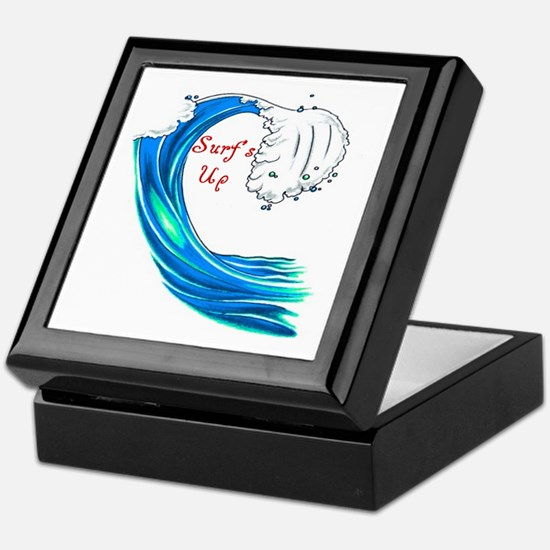 Surfs Up Keepsake Box
