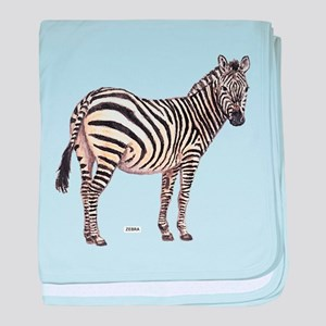 Zebra Animal baby blanket