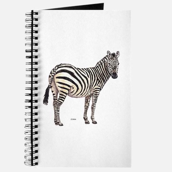 Zebra Animal Journal