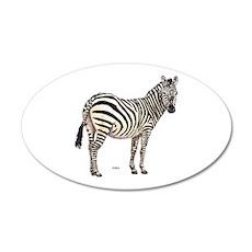 Zebra Animal Wall Decal