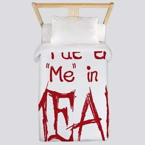 I Put the Me in Mean Twin Duvet