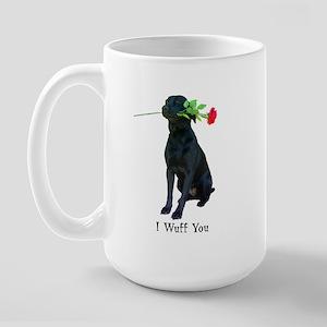 wuff you Large Mug