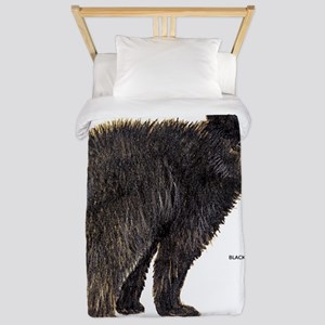 Black Bear Twin Duvet