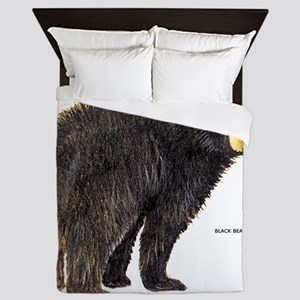 Black Bear Queen Duvet