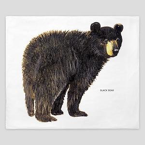 Black Bear King Duvet