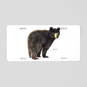 Black Bear Aluminum License Plate