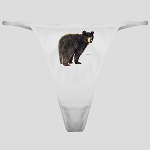 Black Bear Classic Thong
