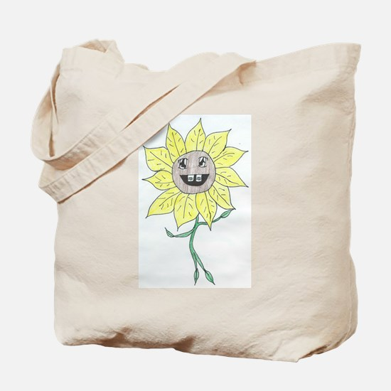 Youth Daisy Tote Bag