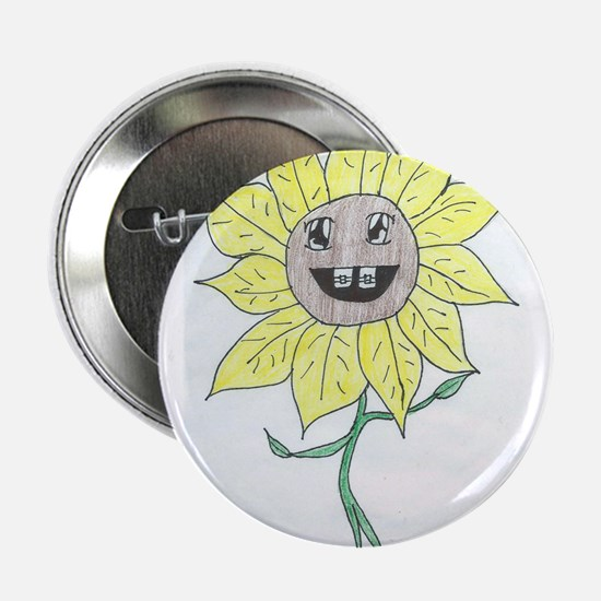 "Youth Daisy 2.25"" Button"