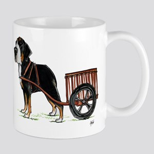 betty-on-cart-cuout Mugs