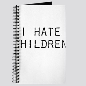 I Hate Children Journal