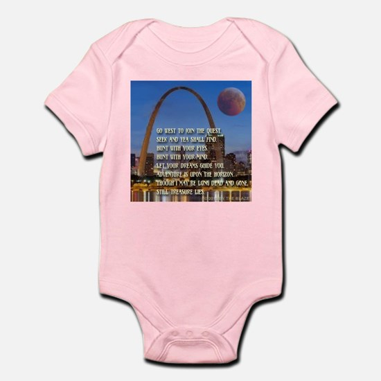 Go West To Join The Quest Infant Bodysuit