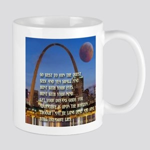 Go West To Join The Quest Mug