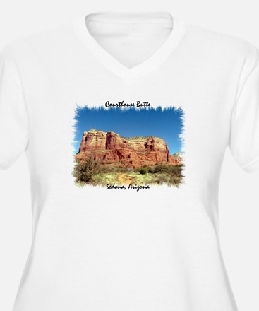 Courthouse Butte Plus Size T-Shirt