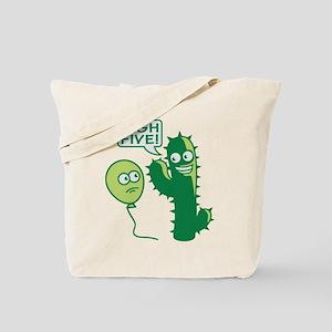cactus_high_five Tote Bag